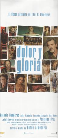 """2019 * Locandina Cinema """"Dolor y Gloria - Almodóvar, Banderas, Cruz"""" Dramma (A)"""