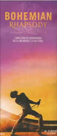 "2019 * Locandina Cinema ""Bohemian Rhapsody - Freddie Mercury, Queen, Rami Malek"" Dramma, Music (A)"