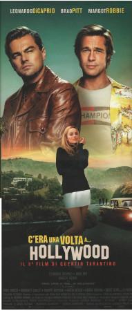 "2019 * Locandina Cinema ""C'era una volta a... Hollywood - Tarantino, Di Caprio, Pitt"" Dramma (A)"