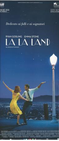 "2016 * Locandina Cinema ""La La Land - Emma Stone, Ryan Gosling"" Music Drama (A)"