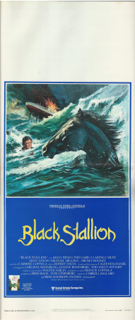 "1980 * Locandina Cinema ""Black Stallion - Francis Ford Coppola"" Commedia (B+)"