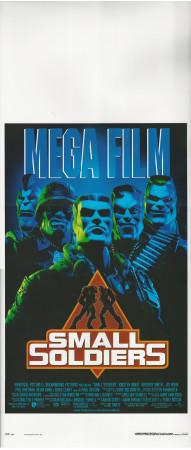 "1998 * Locandina Cinema ""Small Soldiers - Joe Dante"" Fantascienza (B+)"
