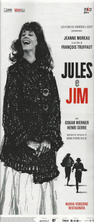 "(2019) * Locandina Cinema ""Jules et Jim - François Truffaut"" Dramma (A-)"