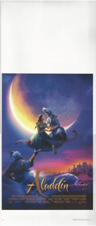 """2019 * Locandina Cinema """"Aladdin - Walt Disney"""" Animazione (A-)"""