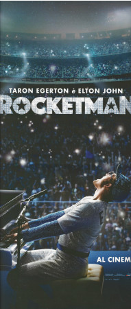 "2019 * Locandina Cinema ""Rocketman, Elton John - Dexter Fletcher"" Musical/Biografico (A)"