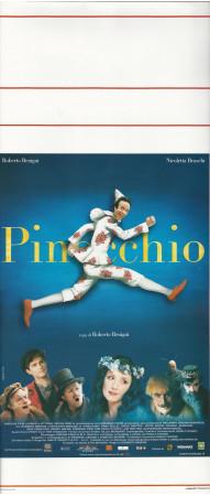 "2002 * Locandina Cinema ""Pinocchio - Roberto Benigni, Nicoletta Braschi "" Commedia (B+)"