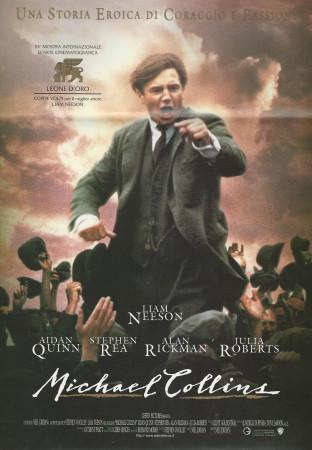 "1996 * Locandina Cinematografica Originale ""Michael Collins - Liam Neeson"""