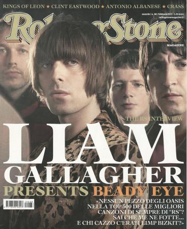 """2011 (N88) * Copertina Rolling Stone Originale """"Liam Gallagher"""" in Passepartout"""