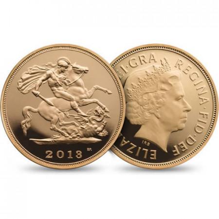 2013 * Sterlina d'oro Gran Bretagna