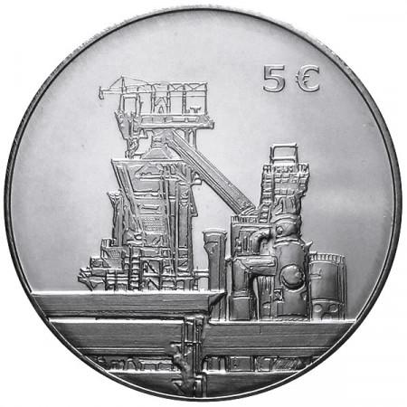 2014 * 5 euro LUSSEMBURGO Siderugia lussemburghese