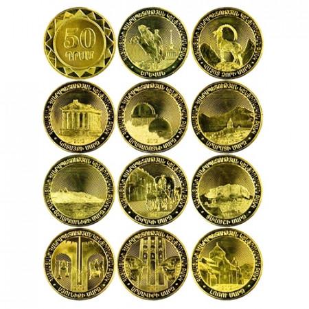 2012 * Lotto 50 dram Armenia Province