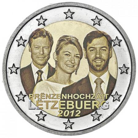 2012 * 2 euro LUSSEMBURGO Matrimonio Reale