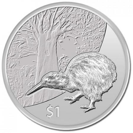 2013 * Dollaro d'argento 1 OZ Nuova Zelanda kiwi