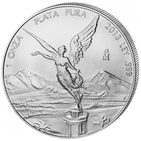 2013 * Messico 1 OZ Oncia d'argento Libertad