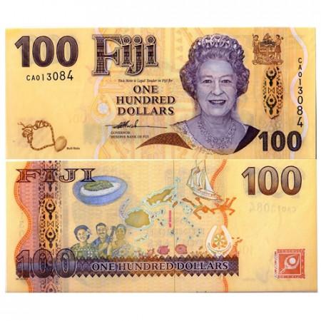 2007 * Banconota Fiji 100 dollari FDS
