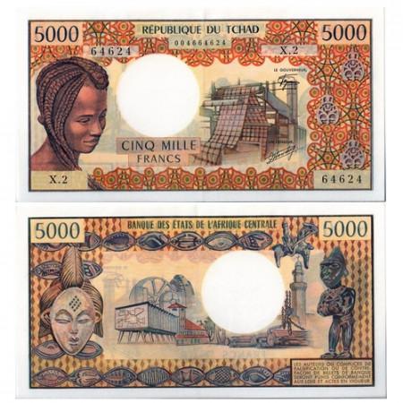 1978 * Banconota Ciad 5000 franchi SPL