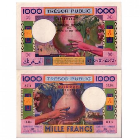 1952 * Banconota Gibuti 1000 franchi qFDS