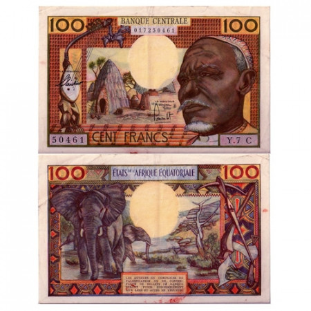 1963 * Banconota Stati Africa Equatoriale 100 franchi SPL