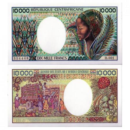 1983 * Banconota Repubblica Centrafricana 10000 franchi FDS