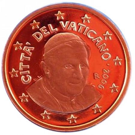 2006 * 1 ct VATICANO PROOF da cofanetto