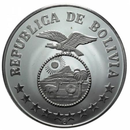 1979 * 200 Pesos Bolivia Anno del Bambino