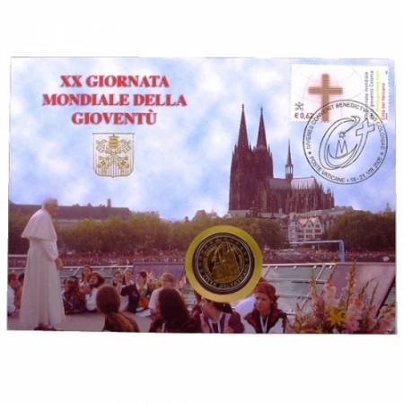 2005 * 2 euro VATICANO Giornata della gioventù FIL/NUM