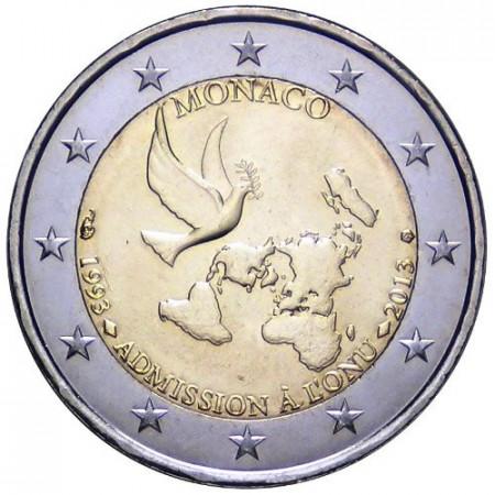 2013 * 2 euro MONACO 20 Adesione alle Nazioni Unite unc