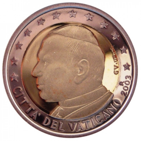 2003 * 2 EURO PROOF VATICANO da cofanetto