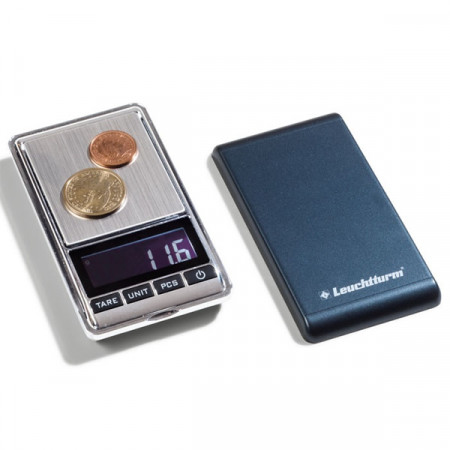 "Bilancia digitale per monete LIBRA ""500"" * LEUCHTTURM"