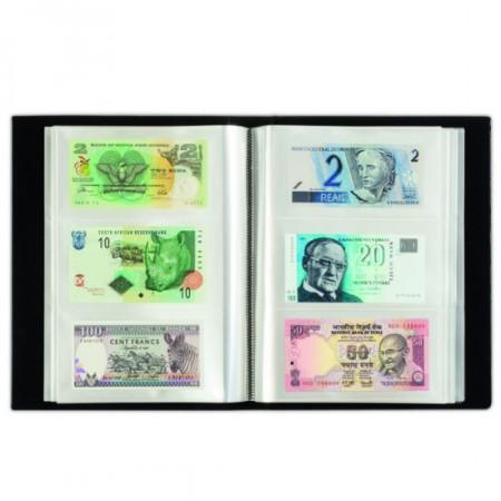 Album BLACK per 300 Banconote con 100 Fogli Integrati * LEUCHTTURM