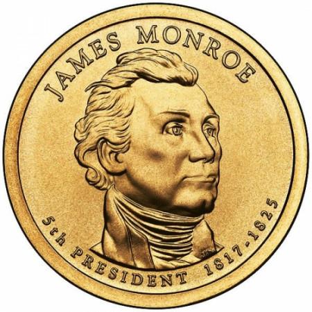 "2008 * 1 Dollaro Stati Uniti ""James Monroe - 5th"" UNC"