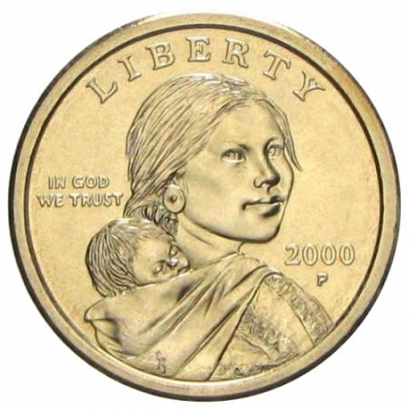 2000 * Dollaro Stati Uniti - Sacagawea (P)