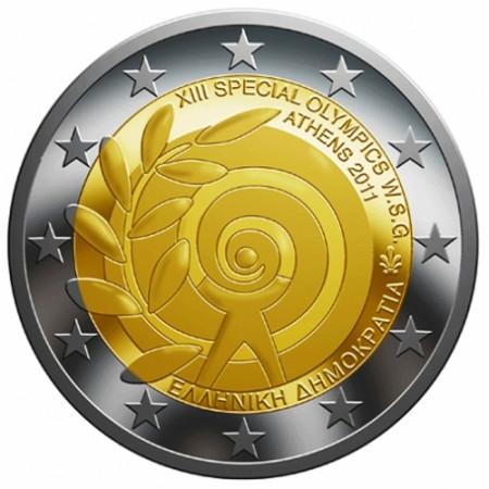 2011 * 2 euro GRECIA XIII Special Olympics