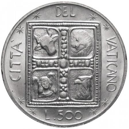 1977 * 500 lire Vaticano Paolo VI Libro degli Evangelisti FDC