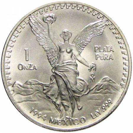 1994 * Messico 1 OZ Oncia d'argento Libertad