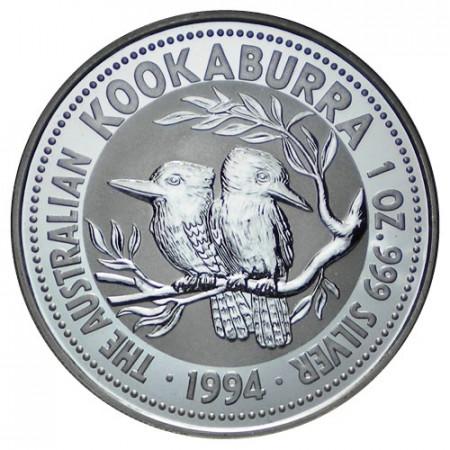 1994 * Dollaro d'argento 1 OZ Kookaburra Australia