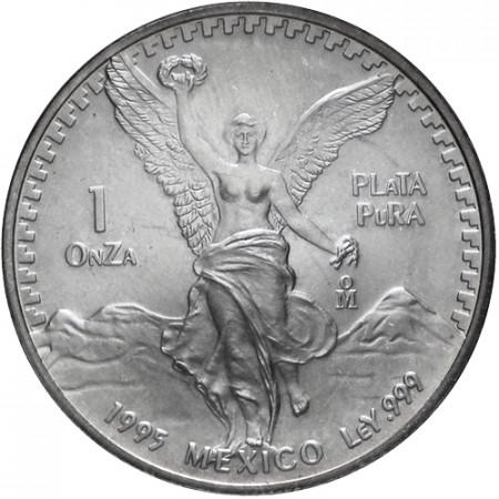 1995 * Messico 1 OZ Oncia d'argento Libertad