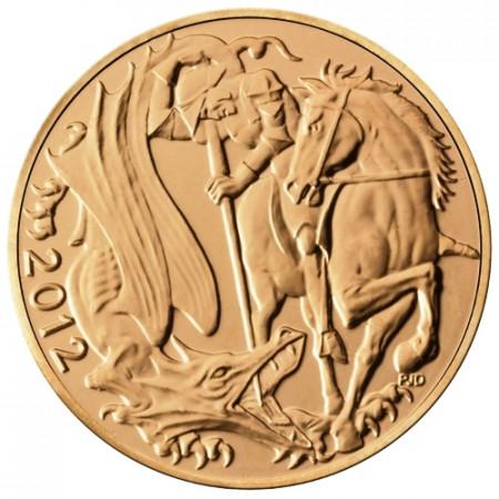 2012 * Sterlina d'oro Gran Bretagna 60 anni regno