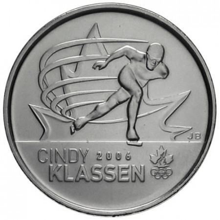 2009 * Quarto di dollaro Canada Cindy Klassen