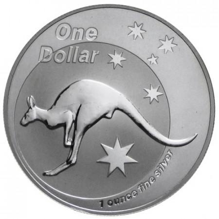 """2005 * 1 Dollaro Argento 1 OZ Australia """"Canguro"""" FDC"""