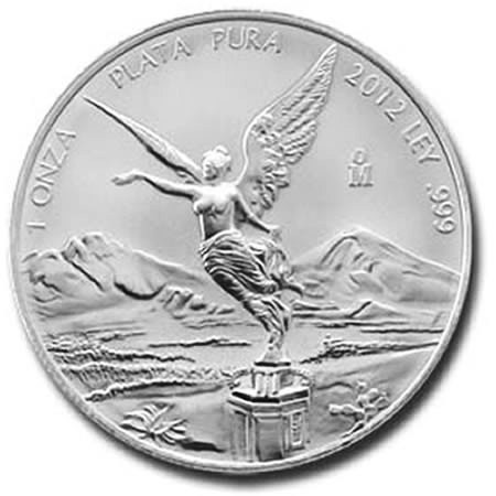 2012 * Messico 1 OZ Oncia d'argento Libertad