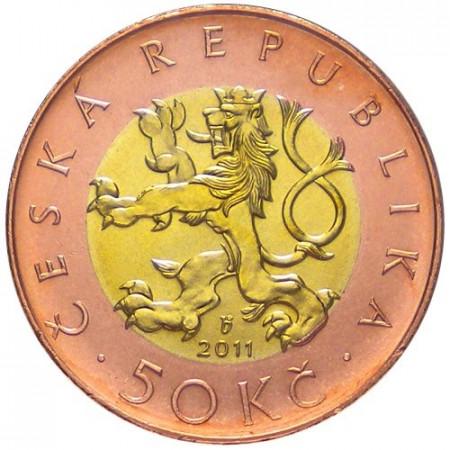 2010 * 50 Korun Repubblica Ceca Leone Ceco