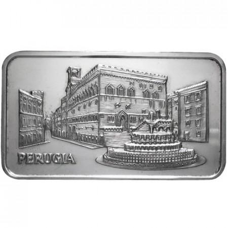 Lingotto d'argento 999 1 OZ Perugia