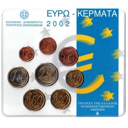 2002 * GRECIA Divisionale Ufficiale Confezione Olanda