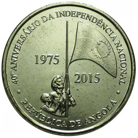 "2015 * 100 Kwanzas Angola ""40° Indipendenza dell'Angola"" UNC"