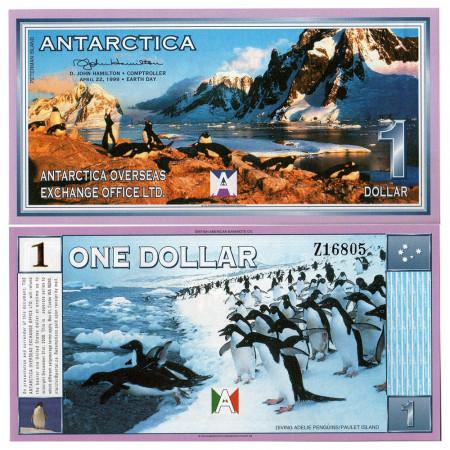 1999 * Banconota Antarctica 1 ant.dollar FDS