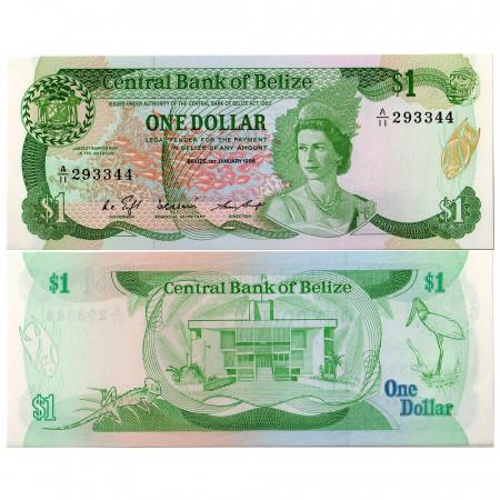 1986 * Banconota Belize 1 dollaro FDS