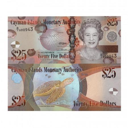 2010 * Banconota Cayman 25 dollari FDS