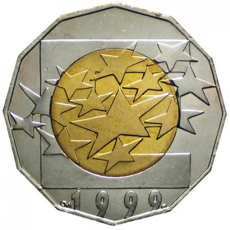 "1999 * 25 Kuna Croazia ""Unione Europea"""