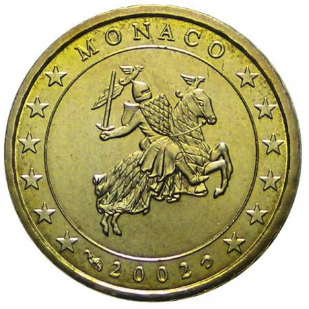 2002 * 10 centesimi MONACO sigillo di Stato
